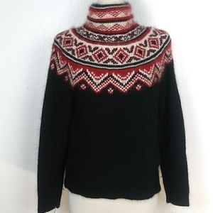 Lauren Ralph Lauren Fairy Isle Sweater Angora